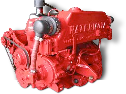 Watermota Sea Panther Engine